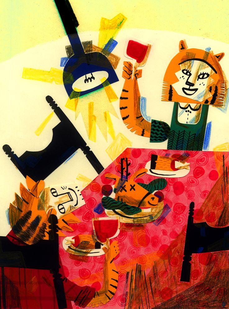 CALVERT: De cena tenemos ciervo // Illustration Ilustracion