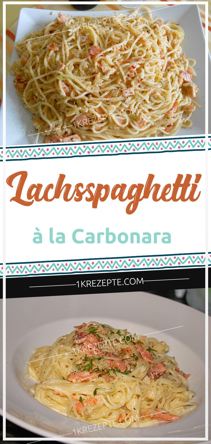 Spaghetti à la Carbonara   – Einfache Rezepte