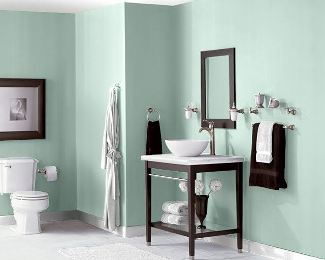 Seafoam Green Bathroom Ideas] Sea Foam Green Bathroom With White ...