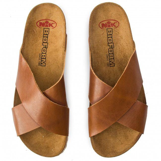 Klapki Nik 07 0374 01 6 04 03 Rudy Klapki Codzienne Klapki Klapki I Sandaly Damskie Www Eobuwie Com Pl Slip On Sandal Shoes Slip On