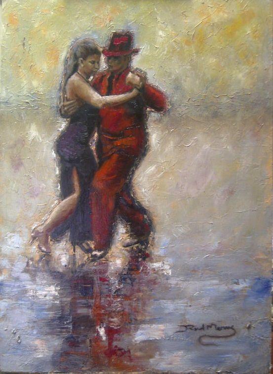 Let's dance! Oil on canvas, 70cm x 50cm. For sale....