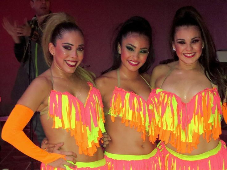 Dancers pause for a photo at Hotel Playa Mazatlan in Mazatlan, Sinaloa, Mexico.