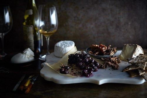 Get a recipe for roasted concord grapes from gardener, cook and forager Laura Silverman. Roasted grapes are the perfect addition to a plate of lush and funky cheeses.