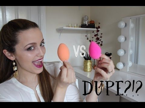 Real Techniques Miracle Complexion Sponge VS. Beauty Blender (Review/Demo) - YouTube