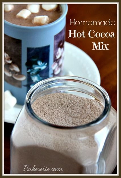 This homemade hot cocoa mix is the richest, creamiest, most flavorful cocoa recipe around. It's the perfect homemade gift to share for the h...