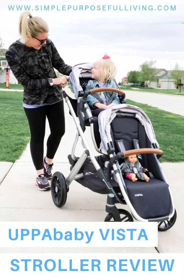 UPPAbaby VISTA Grows With Your Family Simple Purposeful