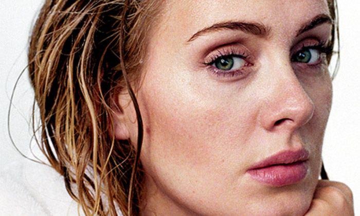 Make-up nieuwsbericht: Adele zonder make-up op cover Rolling Stone