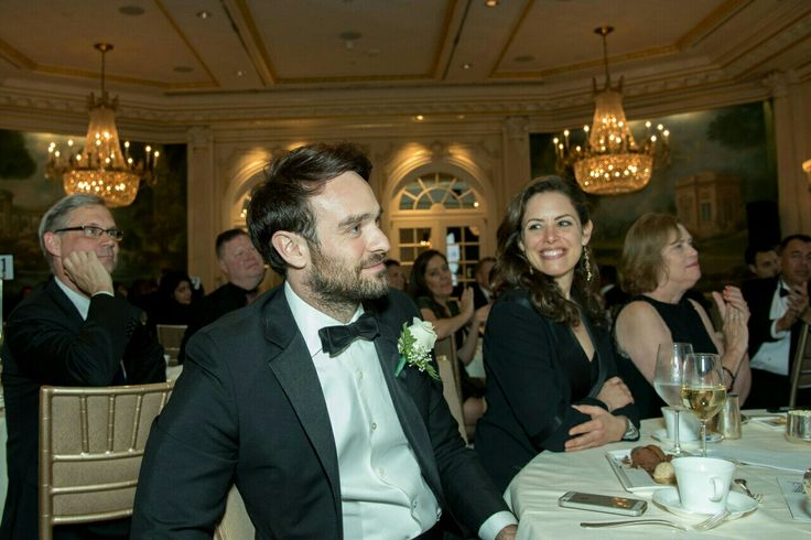 Charlie Cox and his girlfriend