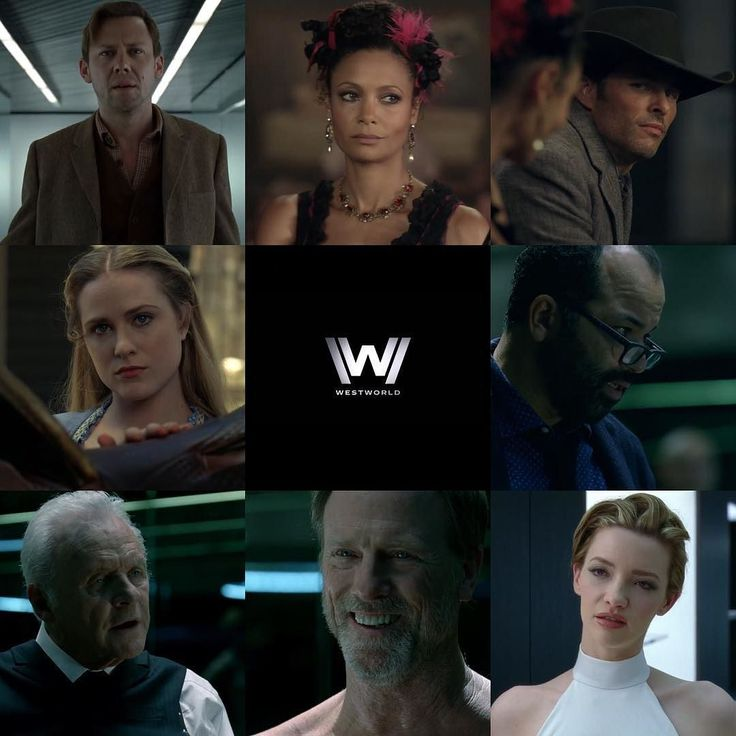 Here's a look at the faces from HBO's Westworld >> #hbo #westworld…