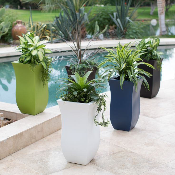 Have to have it. Belham Living Valencia 16 x 16 in. Tall Planter - $124.99 @hayneedle