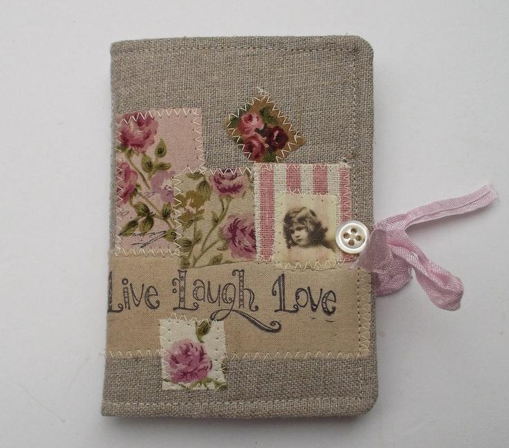Needle Case Linen Roses by pantsandpaper on Etsy, £12.00