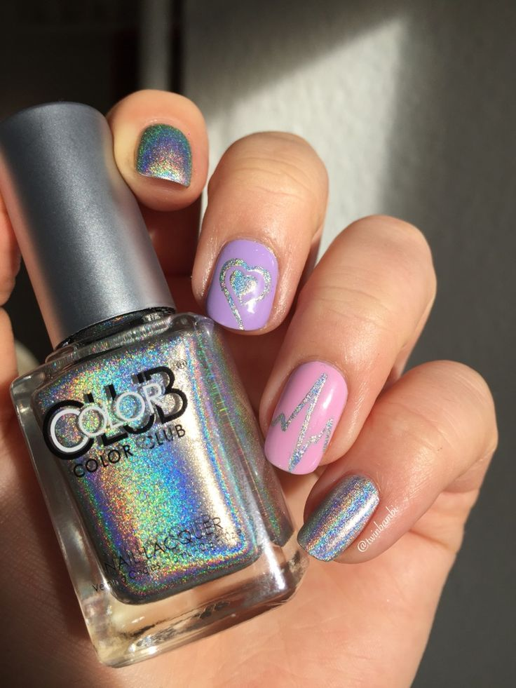 @colorclubpolish @colorclubcouk  Harp On It with @appeal4 Leopard Lily and Sweet Rose Vinyls from TwinkledT
