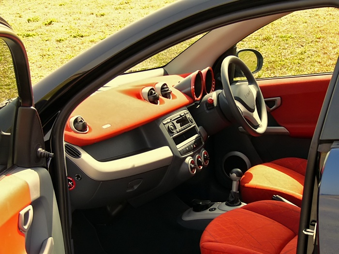 Smart Forfour | interior
