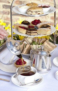 Afternoon Tea served in Scotland.