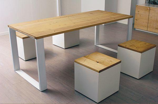 design tavolo legno naturale | modern picnic table? #lovely