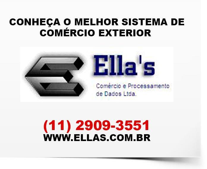 Conheça o melhor sistema de Comércio Exterior Acesse o site: (11) 2909-3551
