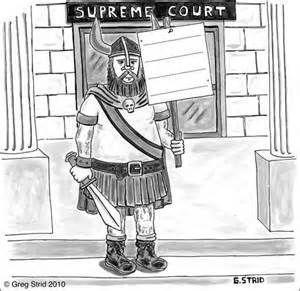 "Viking Protest "" Cartoon Caption Contest"