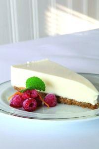 Kremet ostekake med nydelig smak og konsistens. Oppskriften kommer fra Jørn Utheim ved Bergo Hotell, Beitostølen.