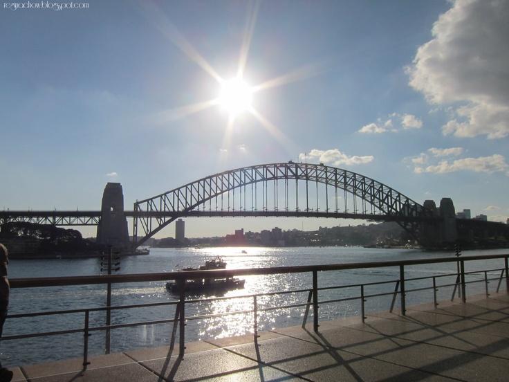 The magnificent Sydney Harbour Bridge