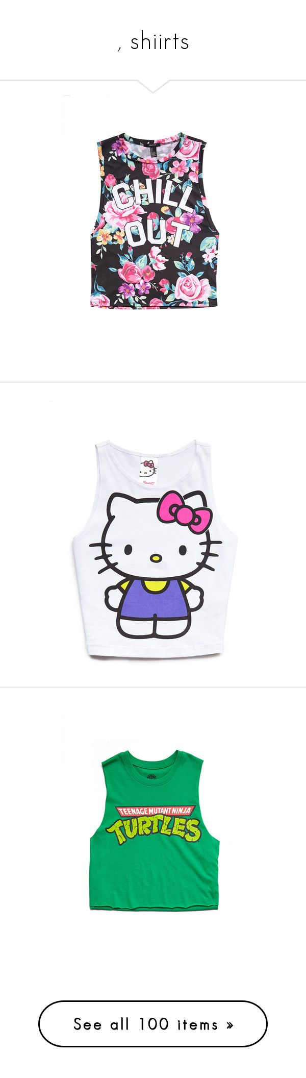 Design your own hello kitty t-shirt - Shiirts By Lipstickk Junkiee Liked On Polyvore Featuring Tops Shirts Muscle T Shirtst Shirt Graphic Designlayering Shirtshello Kittygraphicscrop