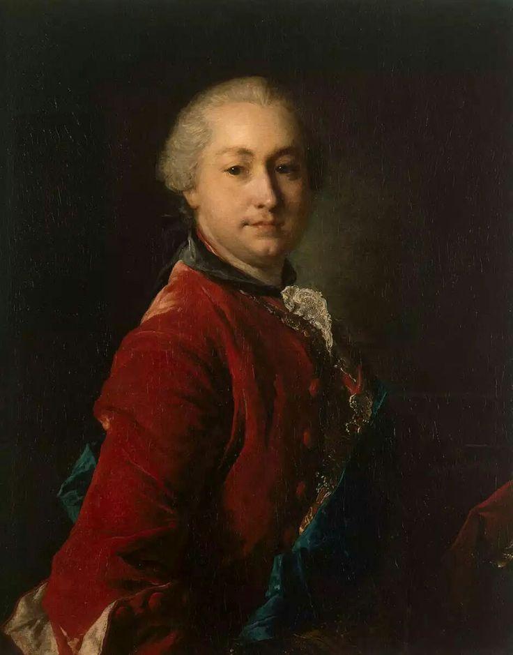 Луи Токке Портрет графа Ивана Шувалова 1750