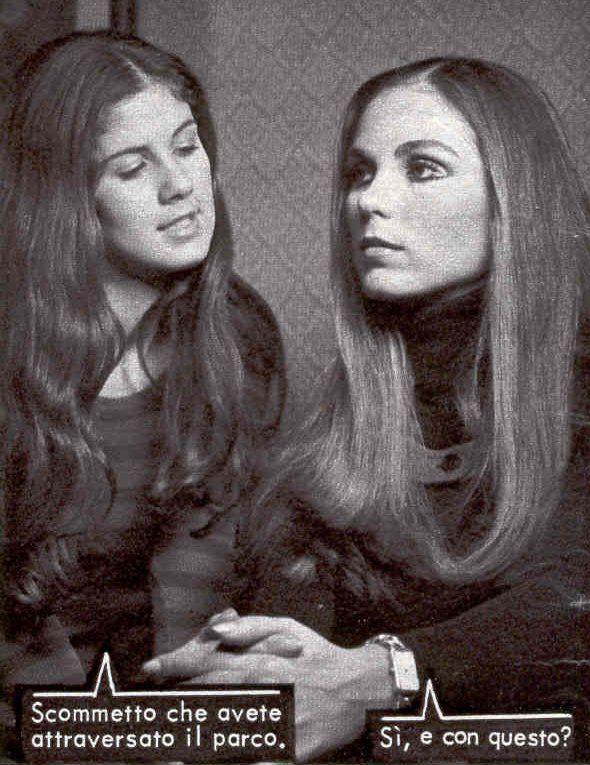 Paola-Pitti-sorella-Katiuscia -- FOTOROMANZI DELLA LANCIO