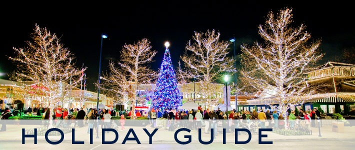 Love Easton Town Center during the holiday season.