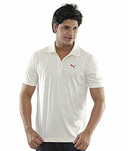 85738612a9c4 Puma Cricket Uniform Dryfit Dress Off White T-ShirtXl