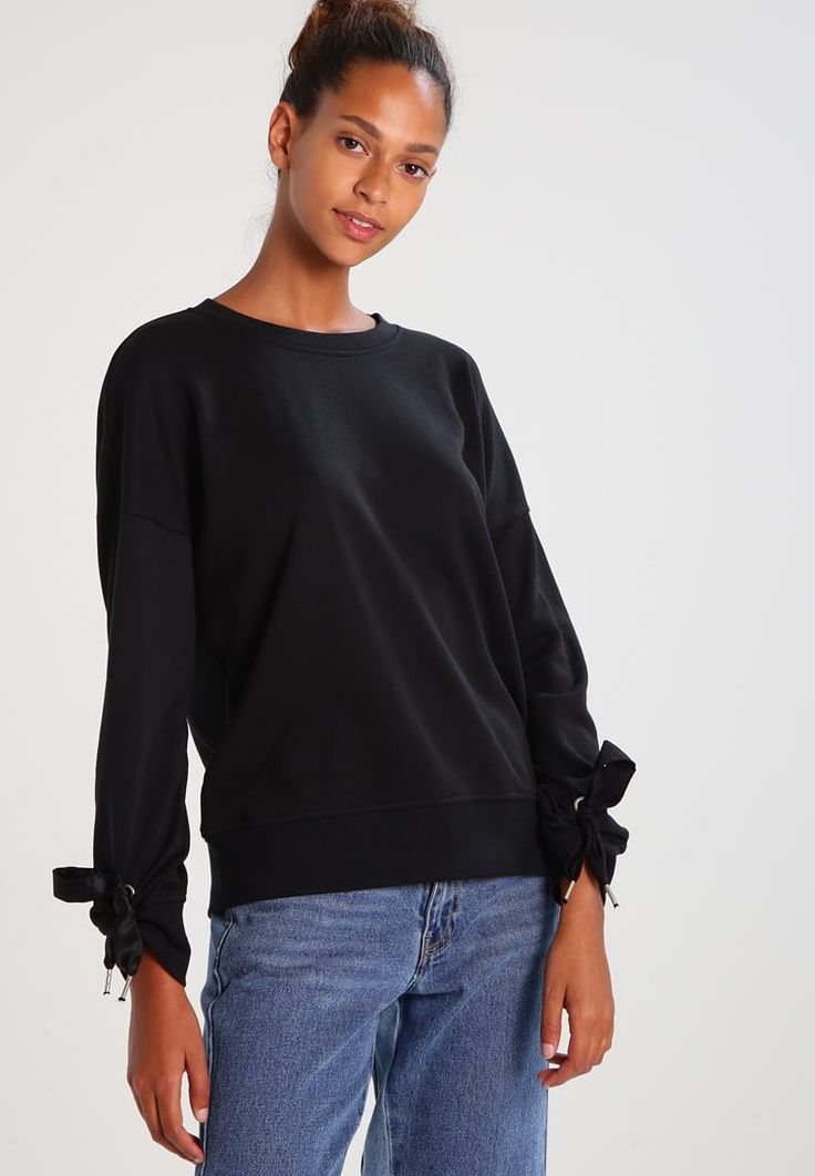 ONLY ONLHEATHER  - Sweatshirt - black for £27.99 (02/08/17) with free delivery at Zalando