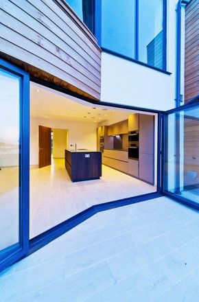 Client: CI Forwarding - Country: Guernsey Island - City: St. Peter Port - Project: Infinity Views - Model: Elle Heat-treated oak - Design: Cucine.gg #CesarKitchen #design #interiors #kitchen