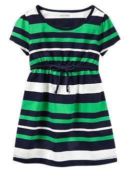 Striped tie dress | Gap