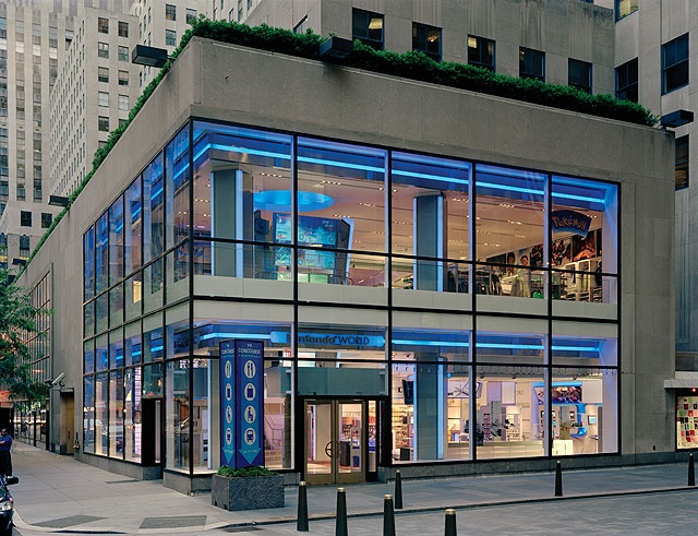 nintendo world store in NYC. this may be my favorite store ever! and it's cheaper than buying online!
