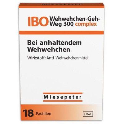Bonbons IBO WEHWEHCHEN-GEH-WEG 300 COMPLEX – Dirk Lorenz