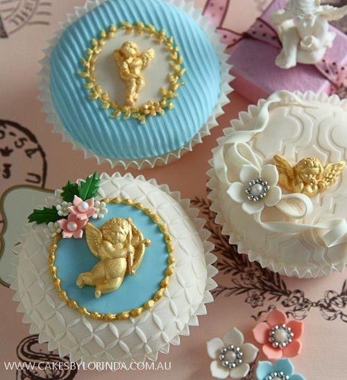 Cherub cupcakes | Angels❤Cherubs❤Seraphims)