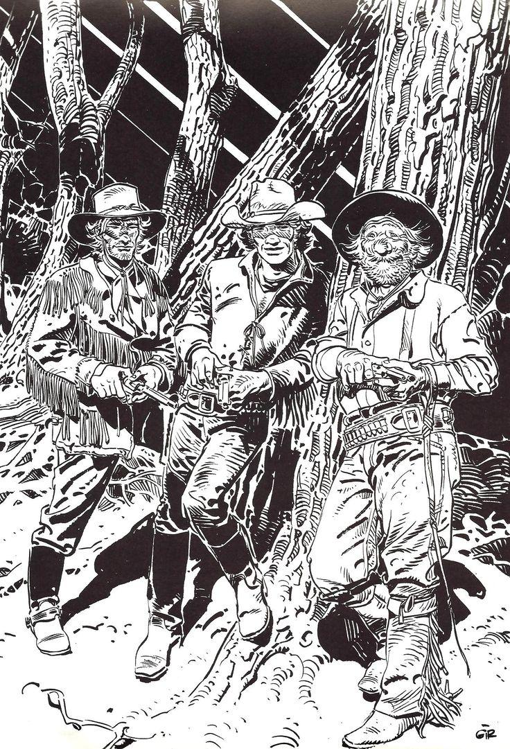 Moebius/Jean Giraud Blueberry - my all-time favorite western comic strip <3 <3 <3