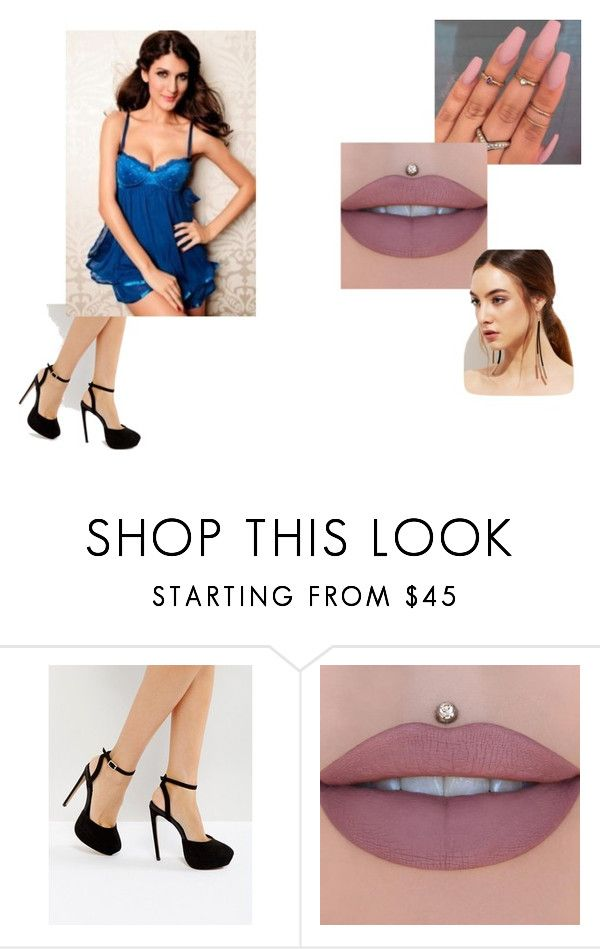"""""""Boyfriend picks my outfits #1"""" by kaitlyn-selvasingh on Polyvore featuring ASOS and Jeffree Star"""