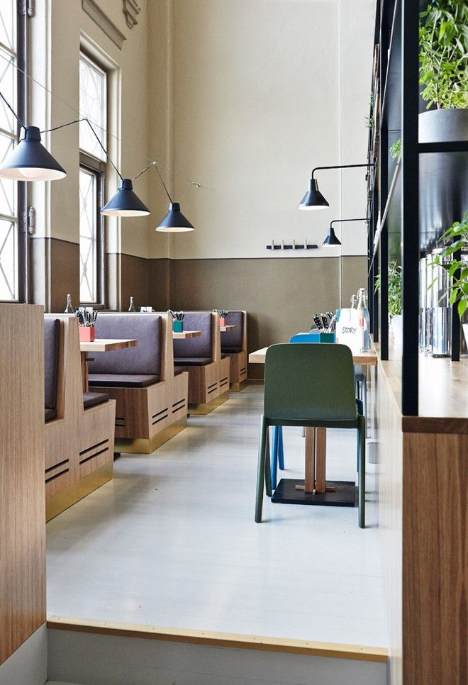 Story restaurant in Helsinki's Old Market Hall | Remodelista