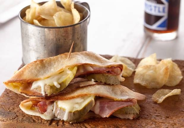 Miami's crazy nightlife, warm beaches and delicious Cuban sandwiches are 3 things that make the Miami culture. Can't afford a plane ticket down south? Try this take on Cuban sandwiches by toasting in Taco Boats™.
