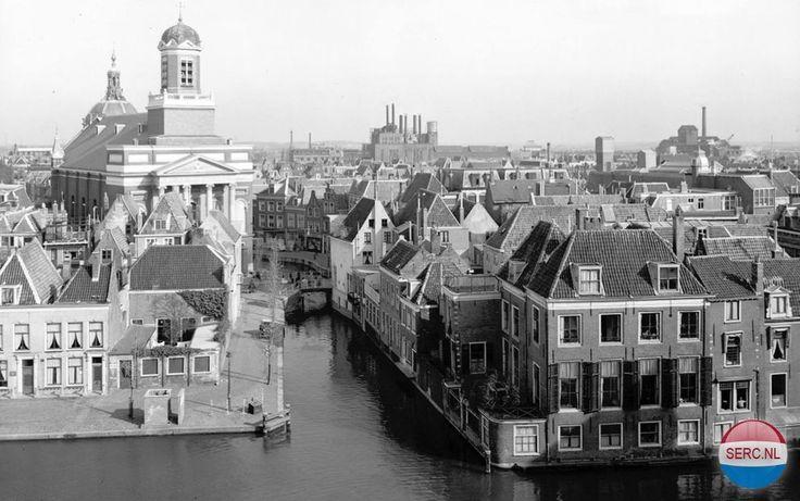 Panorama Leiden Leiden (jaartal: 1950 tot 1960) - Foto's SERC