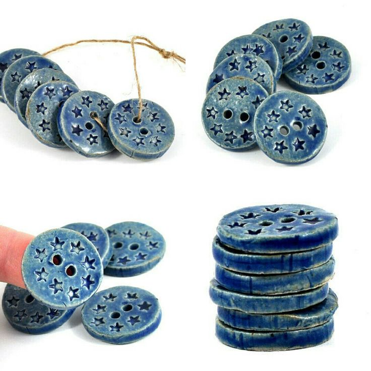 These Handmade Ceramic Buttons Are Ideal For Jazzing Up