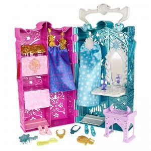 Disney Frozen Anna and Elsa's Royal Closet from Mattel