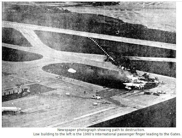 Air New Zealand DC-8 ZK-NZB Crash Auckland International Airport Mangere  July 4th 1966