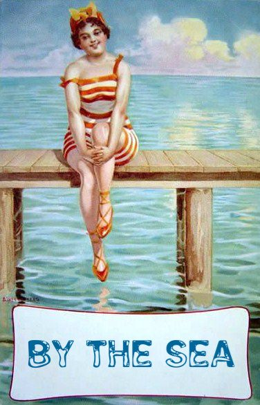 vintage seaside postcards - Google Search