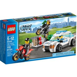 LEGO City Police High Speed Police Chase Building Set