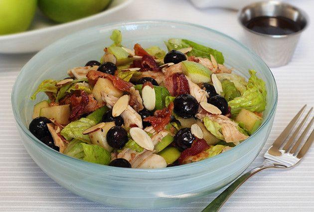 Paleo Winter Blueberry Salad with Maple Vinaigrette  #PaleoNewbie