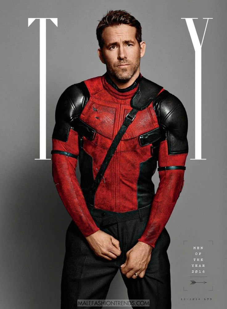 Ryan Reynolds para GQ USA 'Men of the Year' Issue