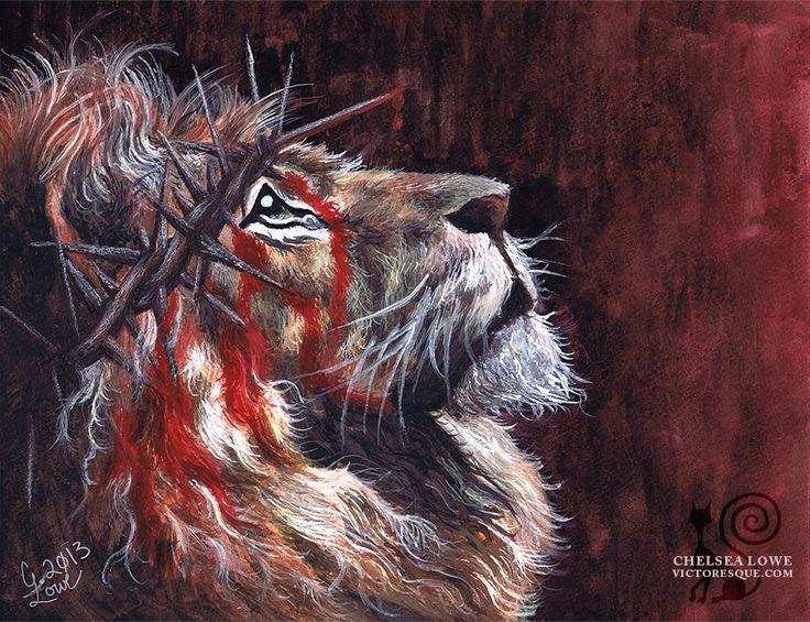 Jesus Judah Tribe Lion Tattoo