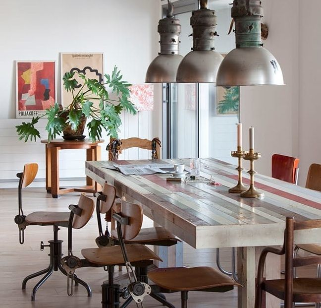 Comedor estilo Loft. #AralartDecoracion #Aralart #Decoracion #style #HomeDecor #interiordesign #regalo #muebles #interiorismo #home #furniture #estilo #homestyle #instadecor #indtalove #dinningroom #Loft #Loftstyle #Tolosa #tolosandco
