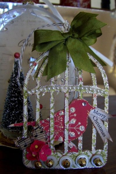 Merry Christmas Gift Tag ~ Ornament Tutorials | Official Blog of Lisa M. Pace