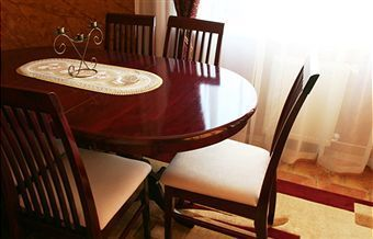 how to clean and polish mahogany furniture